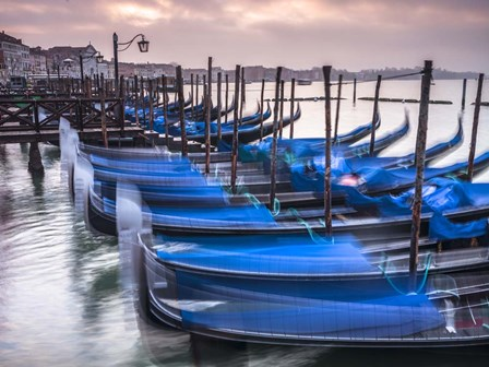 Blue Gondolas 3 by Assaf Frank art print