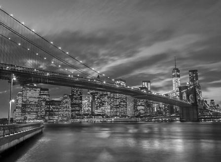 New York BW by Assaf Frank art print