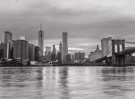 New York  BW 2 by Assaf Frank art print