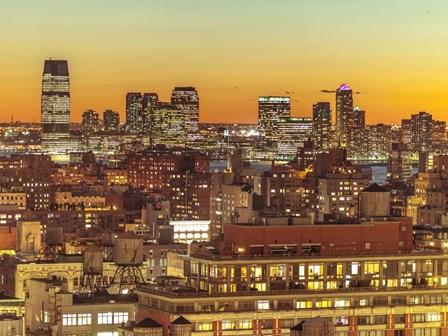 NYC Aerial by Assaf Frank art print