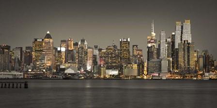 Manhattan Pano by Assaf Frank art print