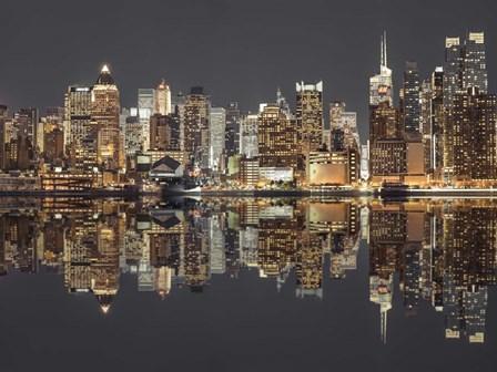 Manhattan Reflections by Assaf Frank art print