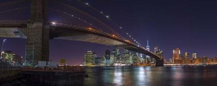 New YorK Shores by Assaf Frank art print