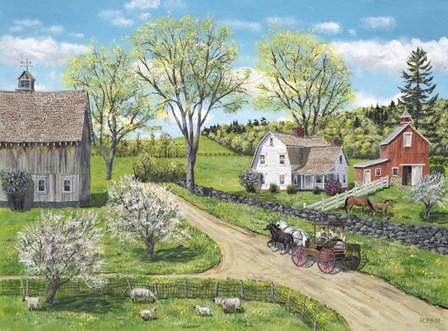 Blessings of Spring by Bob Fair art print