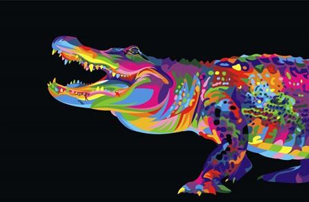 Alligator by Bob Weer art print