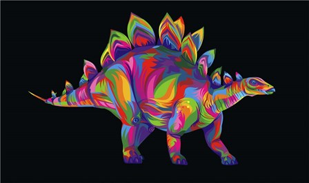 Stegosaurus by Bob Weer art print