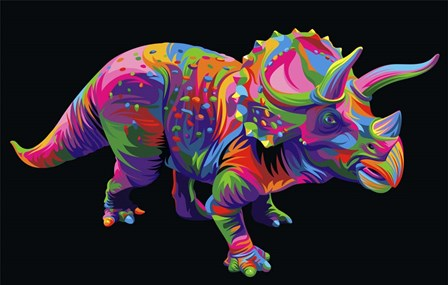 Triceratops by Bob Weer art print
