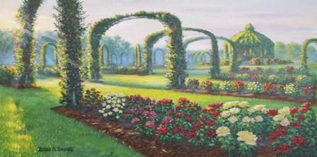 Mystical Garden by Bruce Dumas art print