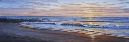 Sunset Breakers by Bruce Dumas art print