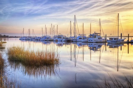 Boats At Calm by Celebrate Life Gallery art print