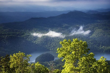 Morning In The Blue Ridge Mountains by Celebrate Life Gallery art print
