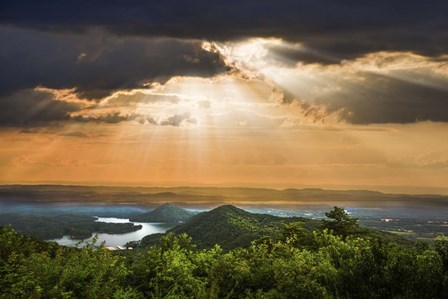 Rays Over Blue Ridge by Celebrate Life Gallery art print