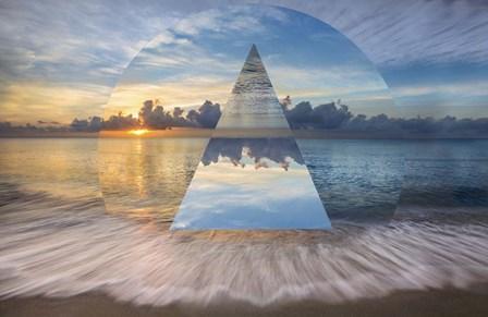 Gentle Dawn Geometric by Celebrate Life Gallery art print