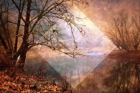 Memories of Autumn Geometric by Celebrate Life Gallery art print
