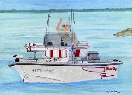 Gettin Away Blazer Bay by Cheryl Bartley art print