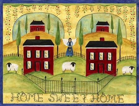 Homesweethome by Cheryl Bartley art print