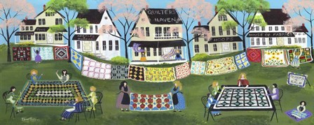 Quilter Haven by Cheryl Bartley art print