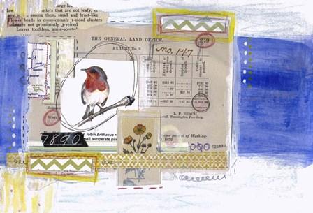 Little Bird by Vintage Gypsy art print