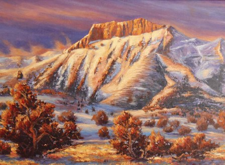 Twilight Desend by Wanda Mumm art print