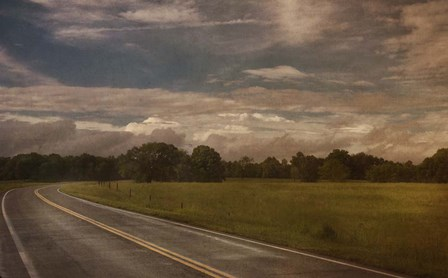 Country Road by Wiff Harmer art print