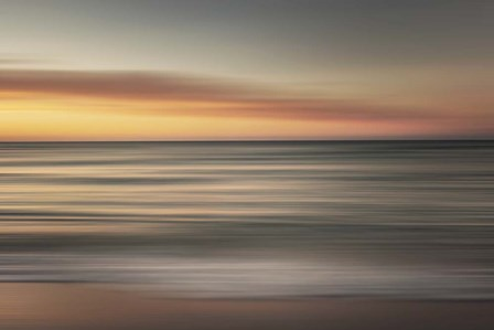 Ocean Sunrise by Wiff Harmer art print