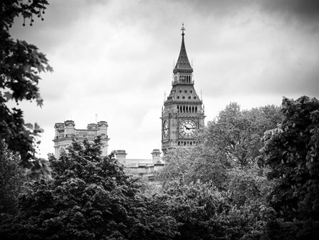 St James's Park with Big Ben - London by Philippe Hugonnard art print